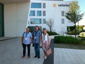 Представители компании «Элтемикс» посетили учебный центр Sartorius в Германии